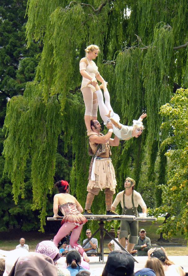 Adagio Performers Acts Fuse Circus